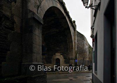 puerta en muralla de Lugo