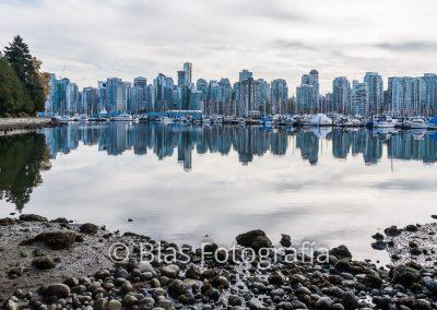 marea baja en Vancouver