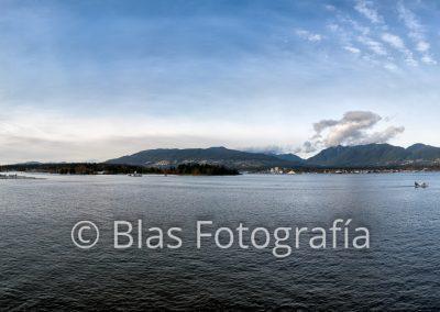 panorama de Vancouver