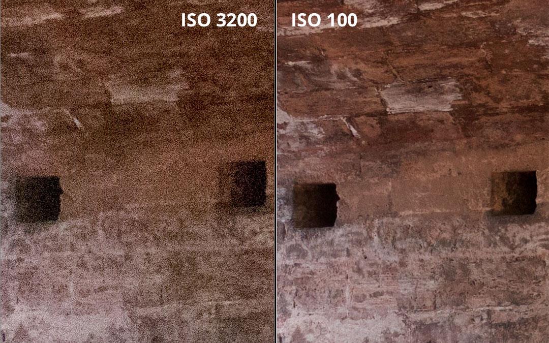 ISO3200 vs ISO100