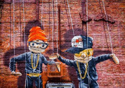 marionetas en Glasgow