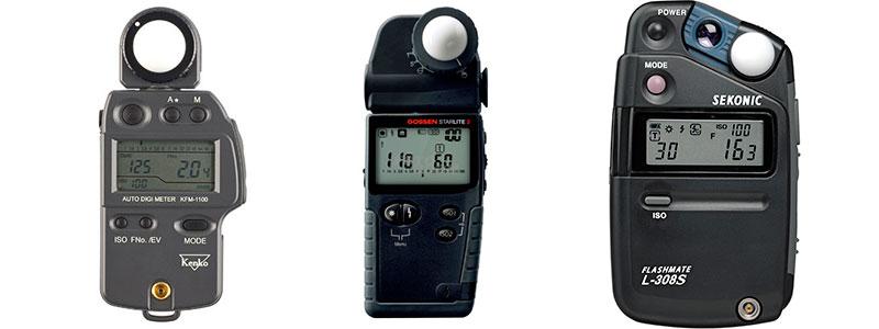 Medir la exposición con fotómetro de mano