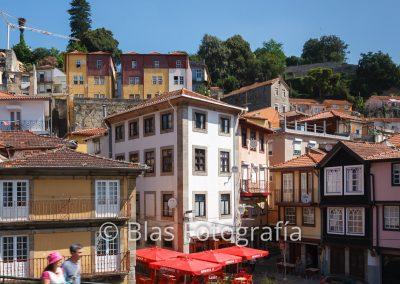 Casas junto al Duero