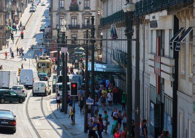 Avenida en Oporto