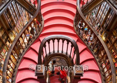 Escalera libreria Lello