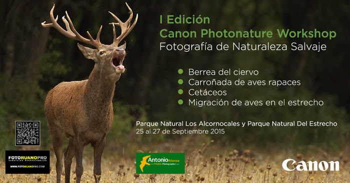 1ª Edición Canon Photonature Workshop