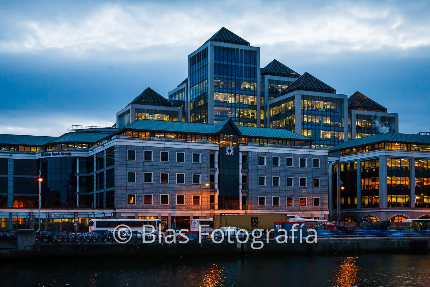 Centro financiero de Dublín