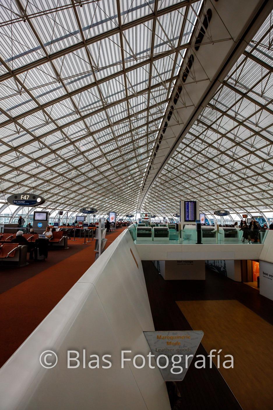 Aeropuerto Charles de Gaulle (III)