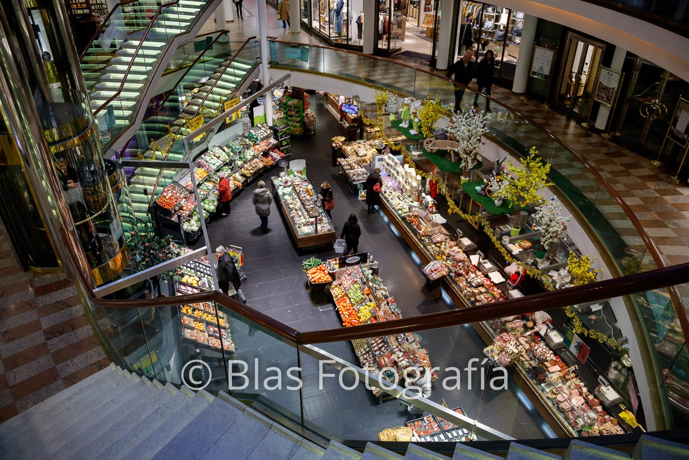 Mercado en Viena