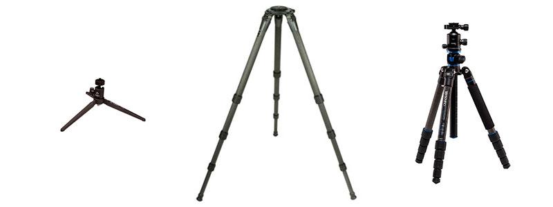 Trípodes para cámaras fotográficas