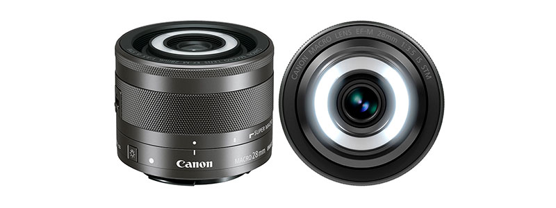 Canon EF-M 28mm f3,5 Macro IS STM