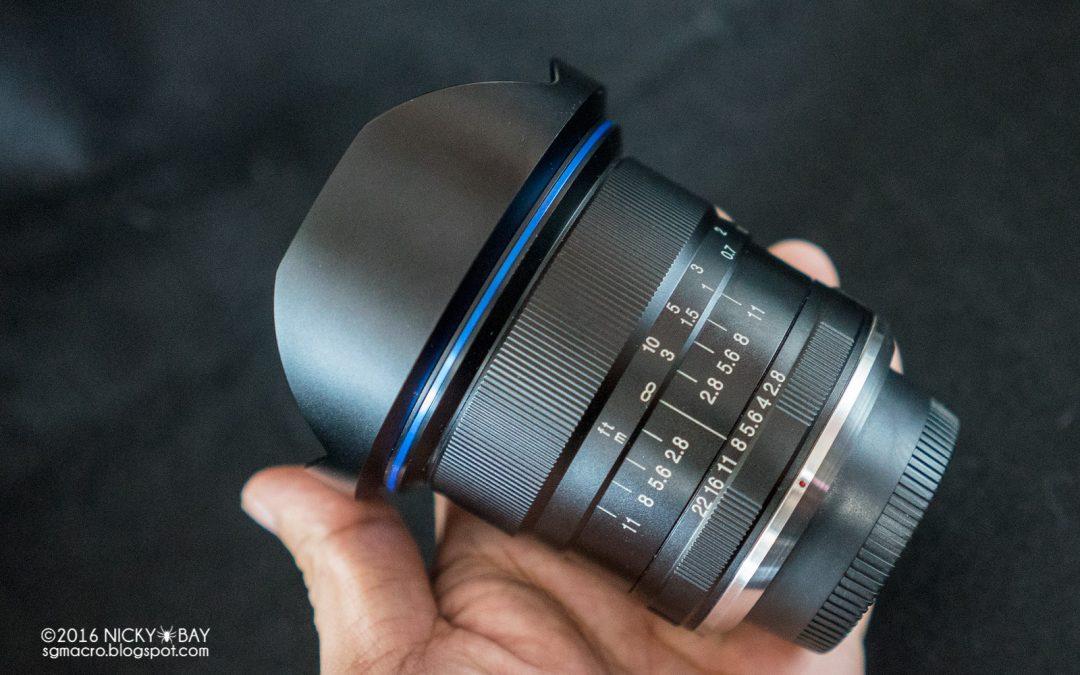 Objetivo lineal F2.8 con focal más amplia del mundo