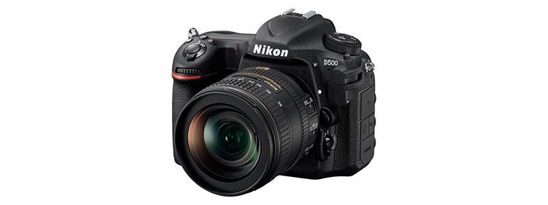 Firmware de Nikon D500 para los errores con tarjetas SD