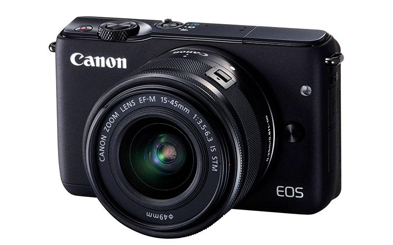 Análisis de la cámara Canon EOS M10