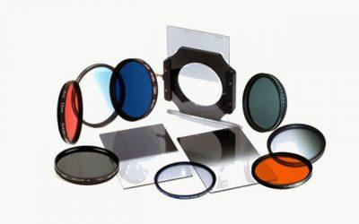 Tipos de filtros fotográficos y su aplicación