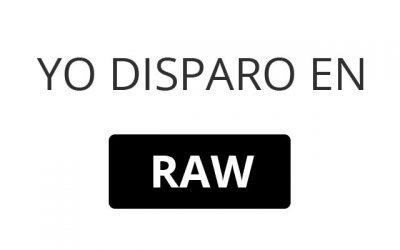 Porqué usar el formato RAW