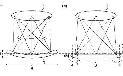 Canon patenta un diseño de sensor curvado