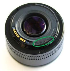 Canon advierte de objetivos EF 50mm F1.8 II falsos