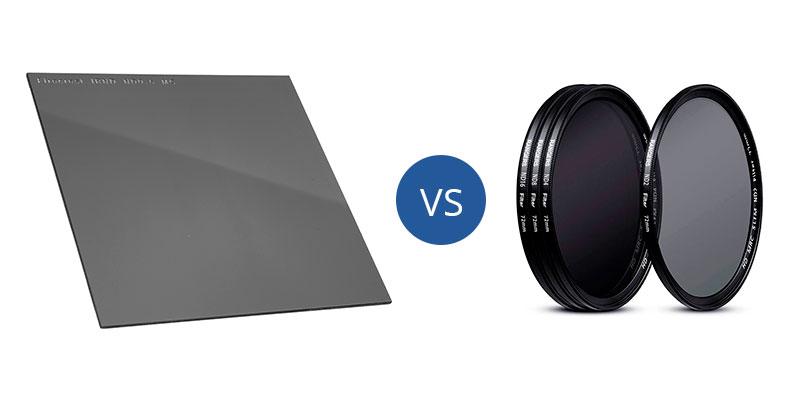 Filtros circulares vs. filtros cuadrados. ¿Cuál es mejor?