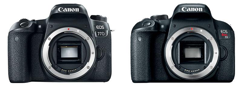 Nuevas reflex del segmento medio: Canon EOS 77D y EOS 800D