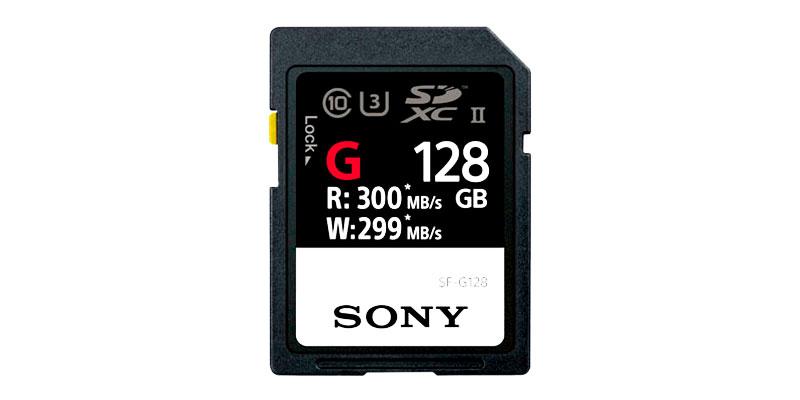 Sony lanza la tarjeta SD más rápida del mundo
