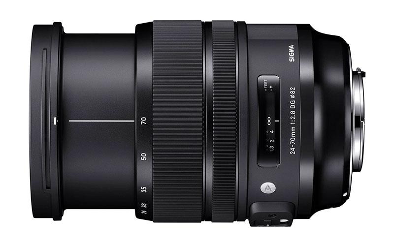 Nuevo Sigma 24-70mm f / 2.8 DG OS HSM