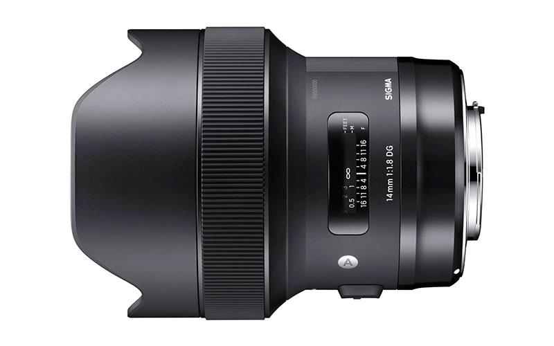 Nuevo Sigma 14mm f/1.8 DG HSM