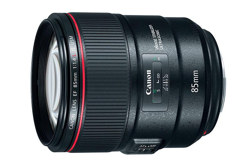 Canon lanza un objetivo estabilizado EF 85mm F1.4L IS USM