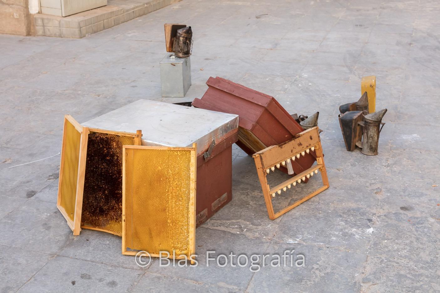 Útiles de apicultura