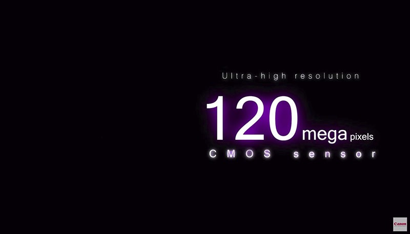 Canon muestra su nuevo sensor 120MP APS-H CMOS