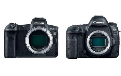¿Compro la Canon EOS R o la EOS 5D Mark IV?