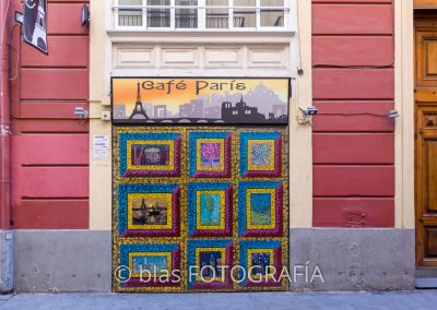 graffiti en calle Quart - Valencia