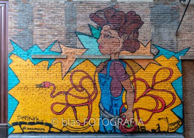 graffiti en Chicago