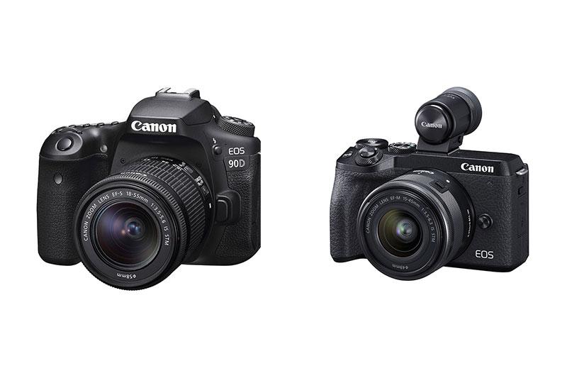 Nuevas cámaras Canon EOS 90D y EOS M6 Mark II