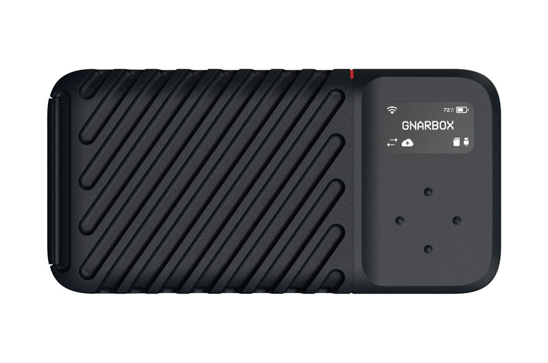 Gnarbox 2.0 SSD – Dispositivo de respaldo resistente para su cámara